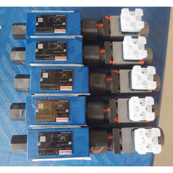 REXROTH 4WE 10 Q3X/CG24N9K4 R900591325 Directional spool valves #1 image